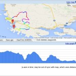 Cycling rute - Rogoznica BLUE (Plava)