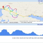 Cycling rute - Rogoznica GREEN (Zelena)